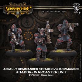 Assault Kommander Strakhov & Kommandos - Khador Warcaster Unit