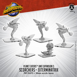 Planet Eaters Units: Scorchers & Exterminatrix