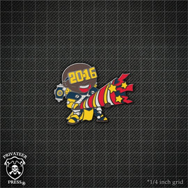 Chibi Siege 2016 New Year Pin