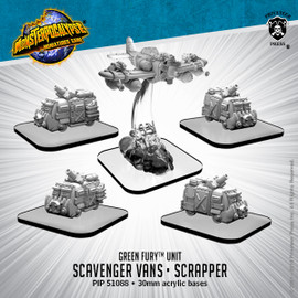 Green Fury Units: Scavenger Vans and Scrapper