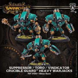Toro/Suppressor/Vindicator Crucible Warjack (with metal parts)