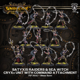 Satyxis Raiders & Sea Witch