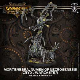 Mortenebra, Numen of Necrogenesis - Cryx Warcaster