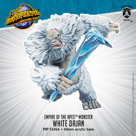 Empire of Apes Monster: White Dajan
