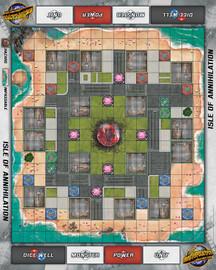 Monsterpocalypse Isle of Annihilation Fabric Playmat