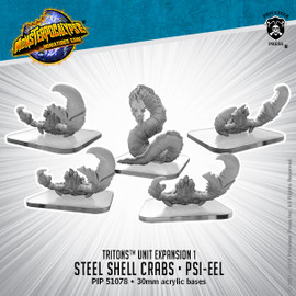 Triton Units: Steel Shell Crabs and Psi-Eel