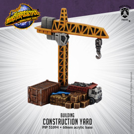 Monsterpocalypse Building - Construction Yard