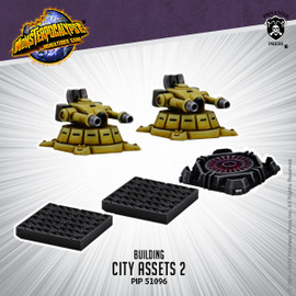 Monsterpocalypse City Assets 2