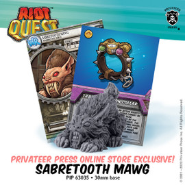 Online Exclusive: Sabretooth Mawg