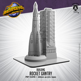 Monsterpocalypse Rocket Gantry Building
