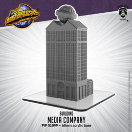 Monsterpocalypse Media Company Building