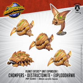 Planet Eaters Unit: Chomper, Destructomite, & Explodohawk