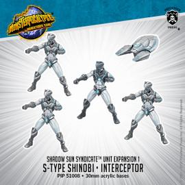 Shadow Sun Syndicate Unit: S-Type Shinobi & Interceptor