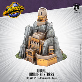 Monsterpocalypse Building - Jungle Fortress