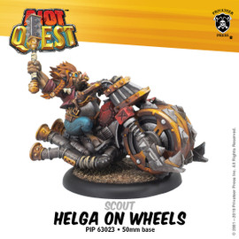 Helga on Wheels