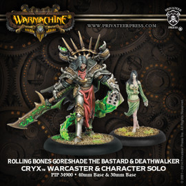 Rolling Bones Goreshade the Bastard & Deathwalker Exclusive