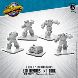 G.U.A.R.D. Units: Exo-Armors & MR-Tank