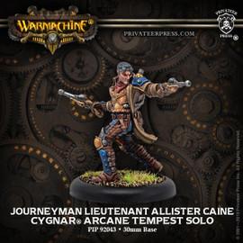 Journeyman Lieutenant Allister Caine