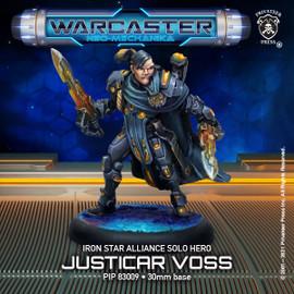 Justicar Voss – Iron Star Alliance Hero Solo