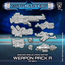 Strike Raptor A Weapon Pack  – Marcher Worlds Pack