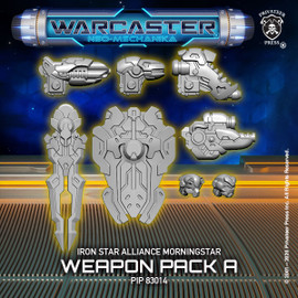 Morningstar A Weapon Pack  – Iron Star Alliance Pack
