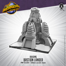 Monsterpocalypse Building -  Bastion Lander