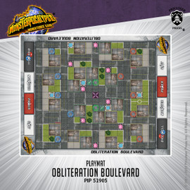 Obliteration Boulevard Fabric Playmat
