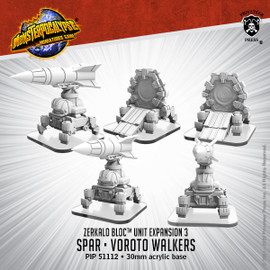 Zerkalo Bloc Unit:  SPAR and Vorota Walker