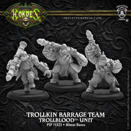 Trollkin Barrage Team – Trollbloods Unit