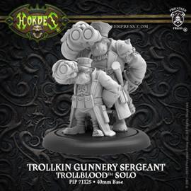 Trollkin Gunnery Sergeant –  Trollblood Solo