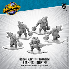 Legion of Mutates Unit: Bashers & Blaster