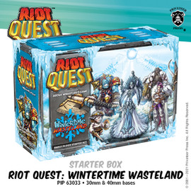 Riot Quest Wintertime Wasteland Starter Box