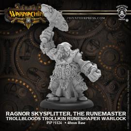 Ragnor Skysplitter, the Runemaster - Trollblood Trollkin Runeshaper Warlock