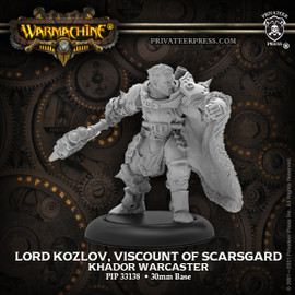 Lord Kozlov, Viscount of Scarsgrad - Khador Warcaster