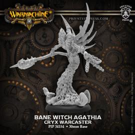 Bane Witch Agathia - Cryx Warcaster