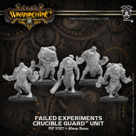 Failed Experiments – Crucible Guard Unit