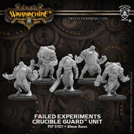 Failed Experiments – Crucible Guard Unit