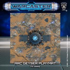 Warcaster Arc Geyser Playmat