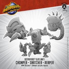 Destroyers Alternate Elite Units: Chomper, Snatcher, and Reaper