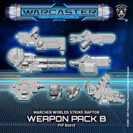 Strike Raptor B Weapon Pack  – Marcher Worlds Pack