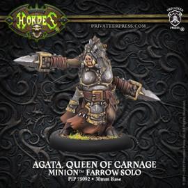 Agata, Queen of Carnage - Minion Farrow Solo