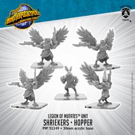 Legion of Mutates Unit: Shriekers and Hopper