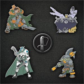 Gen Con 2014 Pin Set