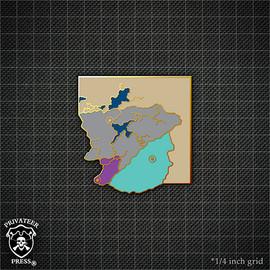 Map #2: The Iron Kingdoms Pin