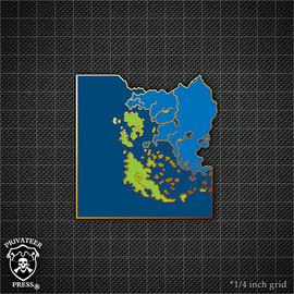 Map #3: The Iron Kingdoms Pin