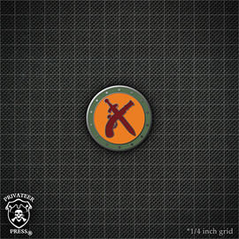 Mercenaries Faction Logo Pin