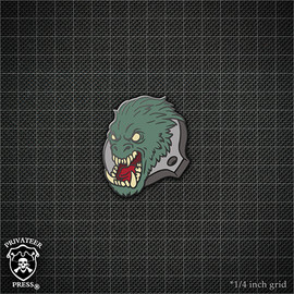 Gorax Bust Pin
