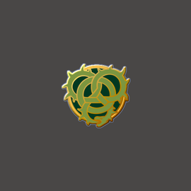 Circle Orboros Faction Logo Pin