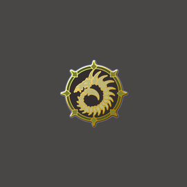 Cryx Faction Logo Pin