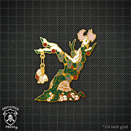 Wurmwood Christmas Tree Pin
